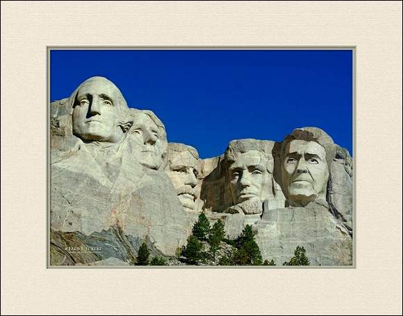 Presidents On Mount Rushmore