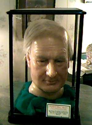 Millard Fillmore wax head
