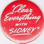 clear it with sidney